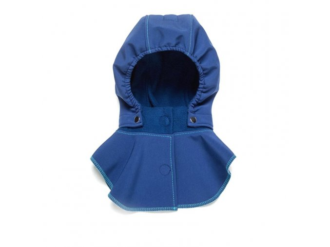 Liliputi dětská kapuce ke kabátu Peříčka modrá