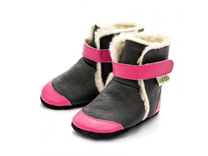 Liliputi zimní capáčky Eskimo černé