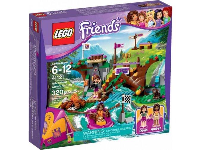 LEGO Friends 41121 Dobrodružný tábor - jízda na divoké vodě