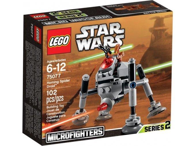 LEGO Star Wars 75077 Homing Spider Droid (Řízený pavoučí droid)