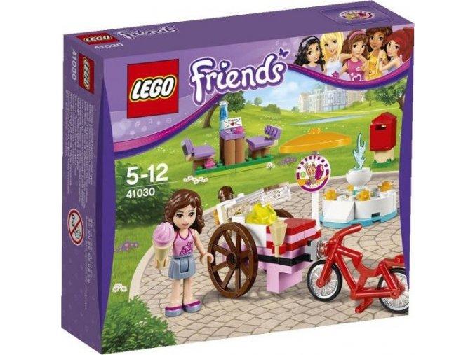 LEGO Friends 41030 Olivia a zmrzlinářské kolo