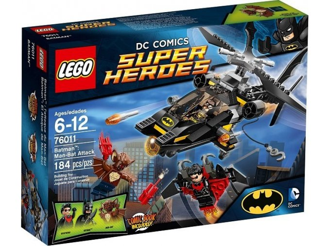 LEGO Super Heroes 76011 Batman: Útok Man-Bata