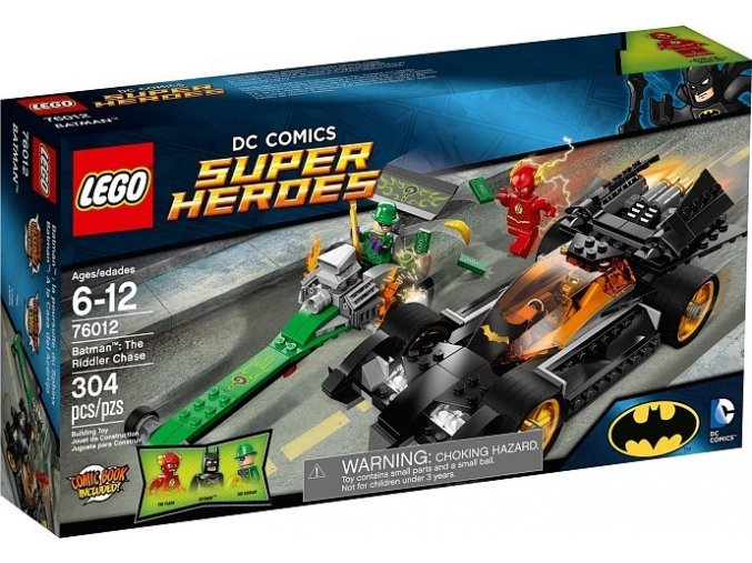 LEGO Super Heroes 76012 Batman: Riddlerova honička