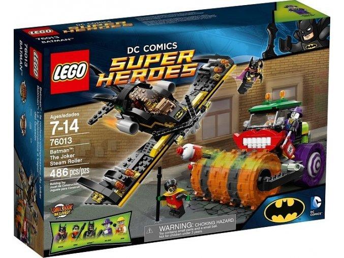 LEGO Super Heroes 76013 Batman: Jokerův parní válec