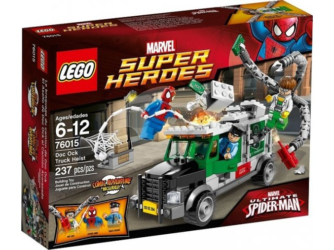 LEGO Super Heroes 76015 Náklaďák Heist Doc Ocka