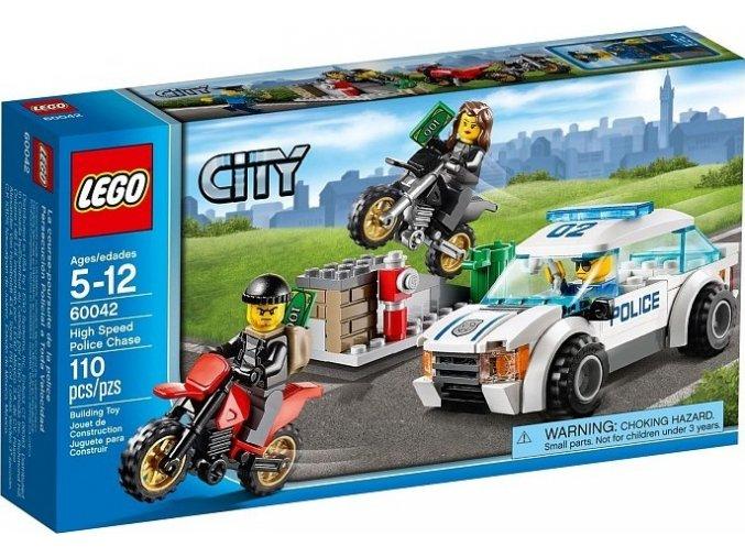 LEGO City 60042 Rychlá policejní honička