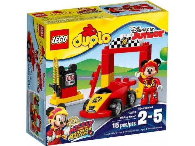 LEGO DUPLO 10843 Mickeyho závodní auto