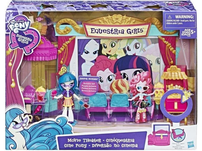 Equestria Girls Tematický hrací set - kino