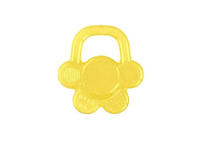 Kousátko chladící květ - žlutá