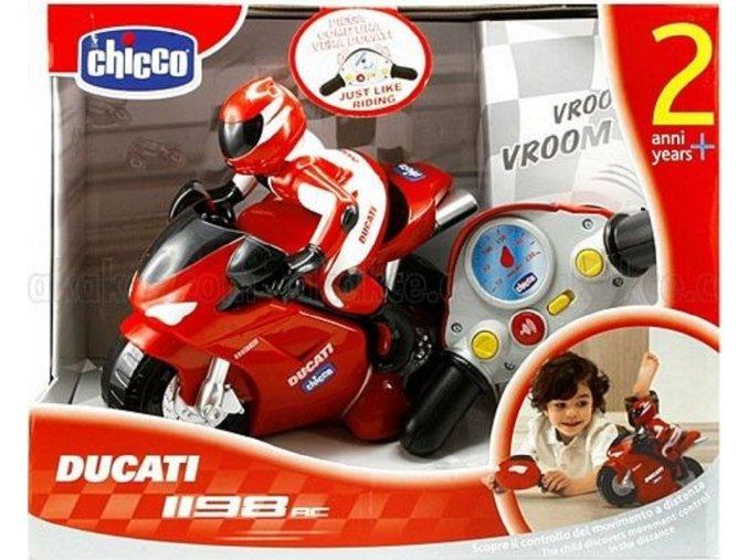 Motorka Ducati na dalkove ovladani chicco