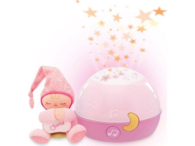 Projektor GoodNight Stars - růžový