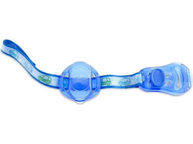 Klip na šidítko s krytem - modrá