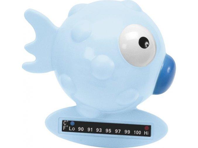 Teploměr do vody rybka - modrá