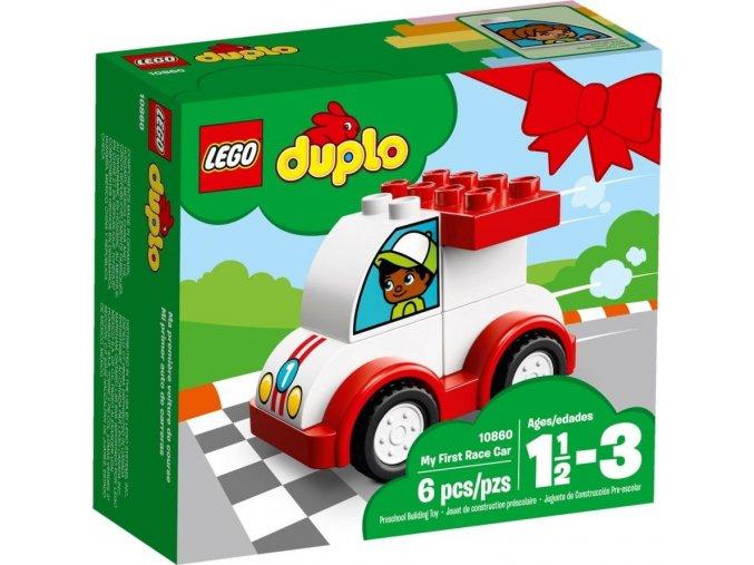LEGO DUPLO My First 10860 Moje první závodní auto