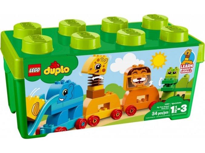 LEGO DUPLO My First 10863 Můj první box se zvířátky
