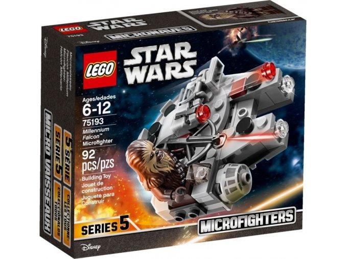 LEGO Star Wars TM 75193 Mikrostíhačka Millennium Falcon™