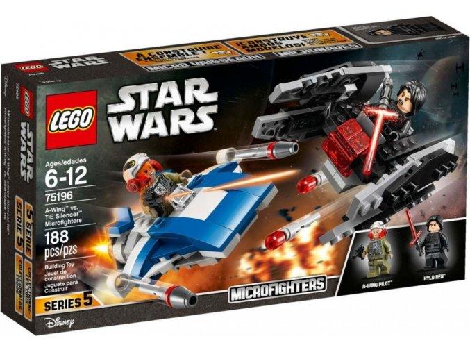 LEGO Star Wars TM 75196 Stíhačka A-Wing™ vs. mikrostíhačka TIE Silencer™