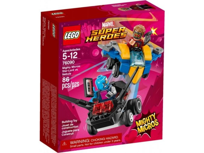 LEGO Super Heroes 76090 Mighty Micros: Star-Lord vs. Nebula