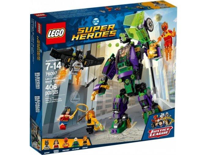 LEGO Super Heroes 76097 Lex Luthor ™ a zničení robota