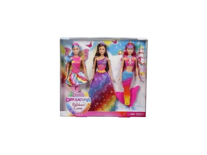 barbie 3 panenky 1