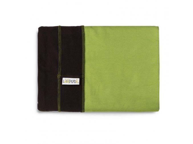 LLPT814 liliputi elasticky satek hazel green noseni deti satek na noseni deti