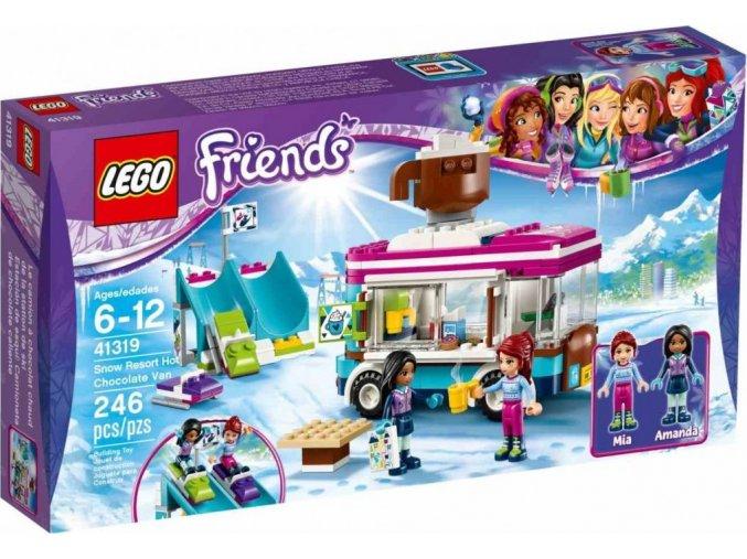 LEGO Friends 41319 Dodávka s horkou čokoládou v zimním středisku