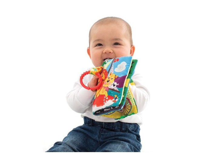 Playgro - Aktivity knížka na cesty