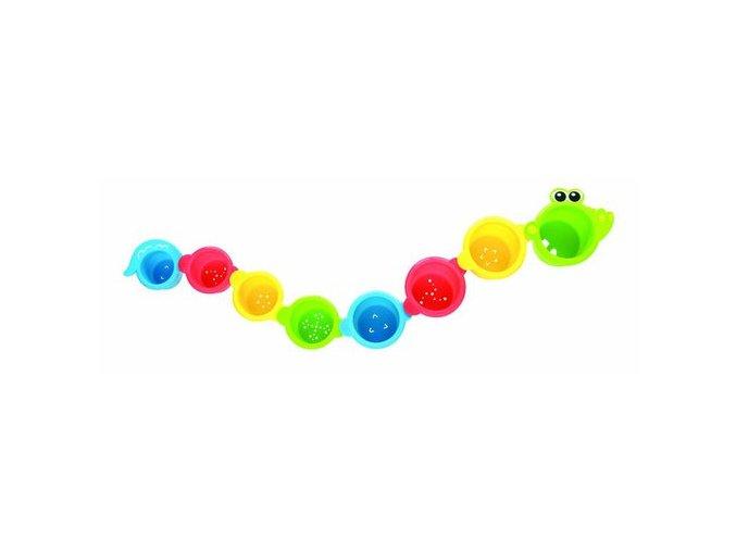 Playgro - Vodní misky krokodýl