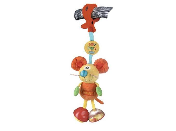 Playgro - Závěsná myška s klipem