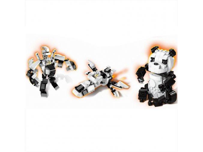 Enlighten Brick 1403-3 Panda Robot