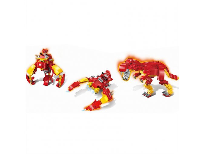 Enlighten Brick 1403-4 Dino Robot