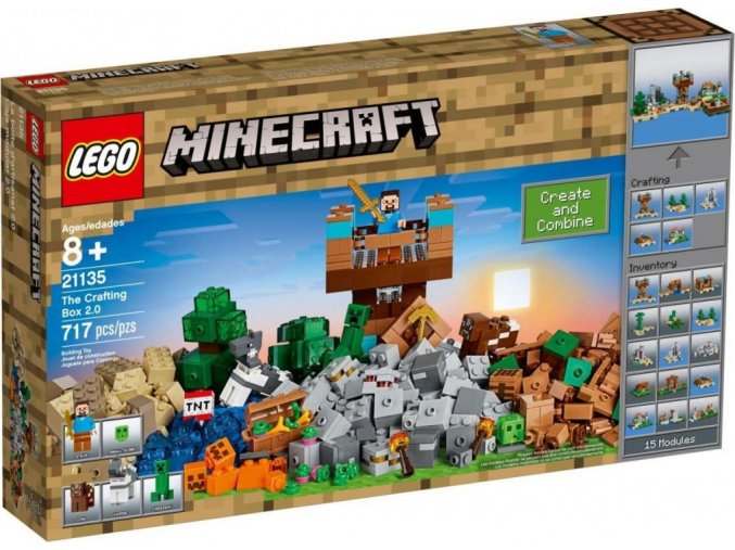 LEGO Minecraft 21135 Kreativní box 2.0