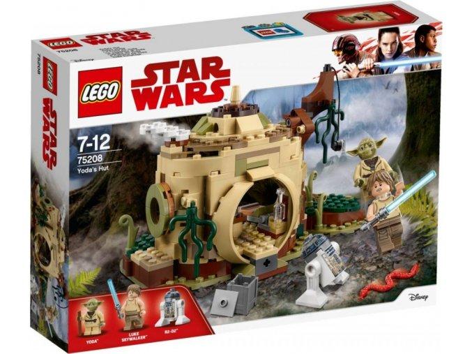 LEGO Star Wars 75208 Chýše Mistra Yody
