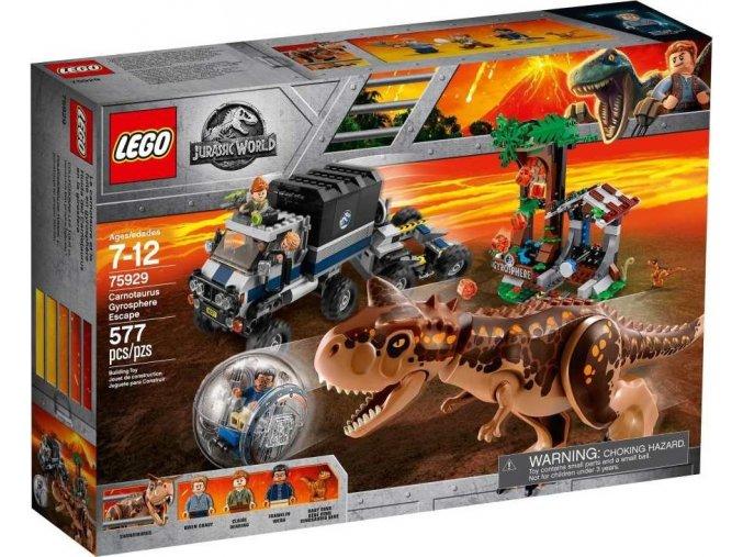 LEGO Jurassic World 75929 Útěk Carnotaura zGyrosféry