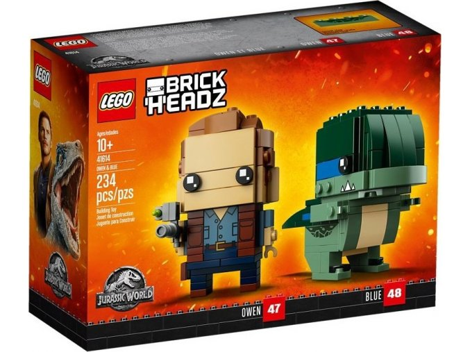 LEGO BrickHeadz 41614 Jurrasic World Owen & Blue
