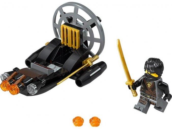 LEGO NINJAGO 30426 Tajné bažinové vznášedlo