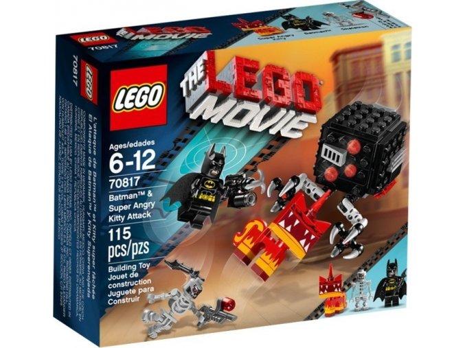 LEGO Movie 70817 Batman a útok rozzuřené Kitty