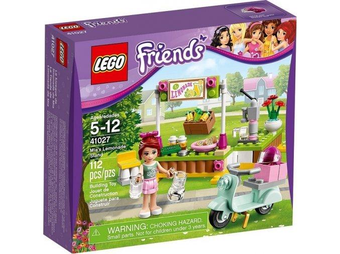 LEGO Friends 41027 Mia a stánek s limonádou