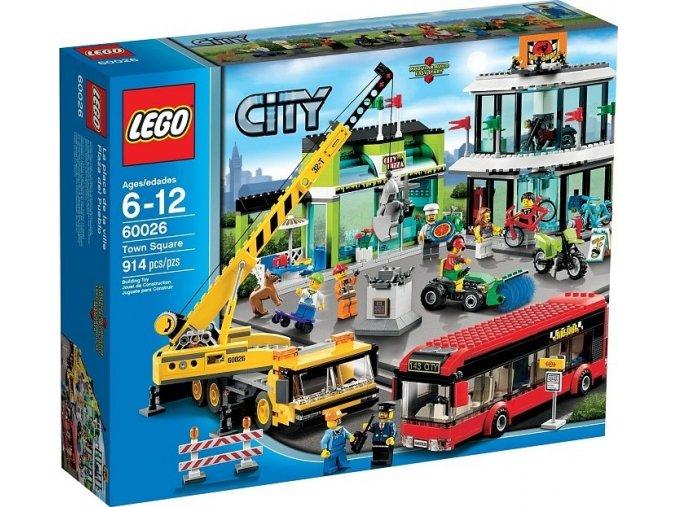 LEGO City 60026 Náměstí (Town Square)