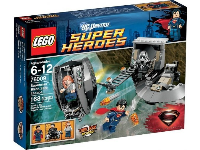LEGO Super Heroes 76009 SuperMan: Únik z Black Zero