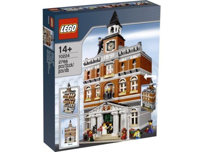 LEGO 10224 Town Hall, Radnice