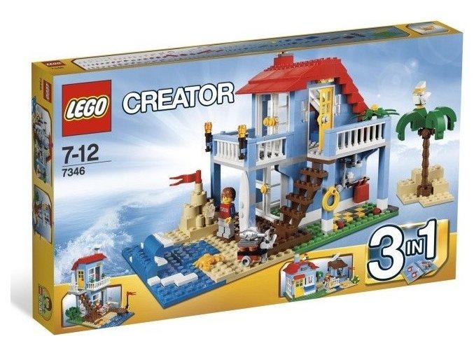 LEGO Creator 7346 Plážový domek 3 v 1