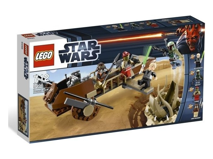 LEGO Star Wars 9496 Desert Skiff (Pouštní mobil)