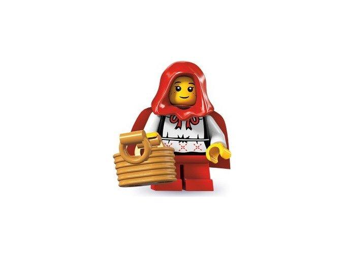 LEGO 8831 Minifigurka Červená Karkulka
