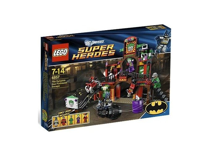 LEGO Super Heroes 6857 Batman: Útěk z bláznivého domu