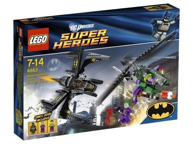 LEGO Super Heroes 6863 Batmanova bitva nad Gotham City