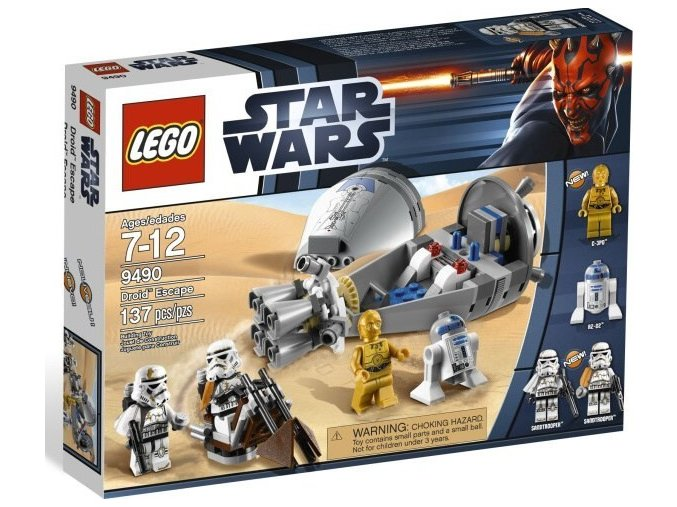 LEGO Star Wars 9490 Únik droidů