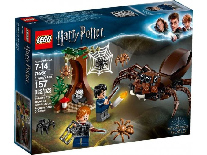 LEGO Harry Potter™ 75950 Aragogovo doupě