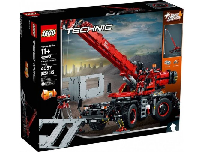 LEGO TECHNIC 42082 Terénní jeřáb