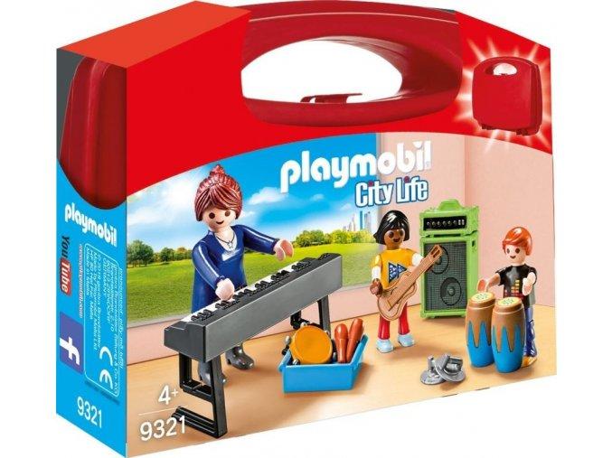 PLAYMOBIL® 9321 Přenosný kufřík Muzikanti